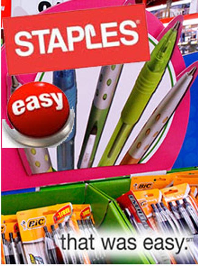 Staples Catalog Cover