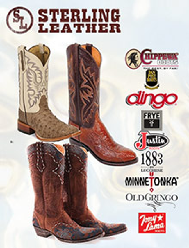 Sterling Leather Catalog Cover