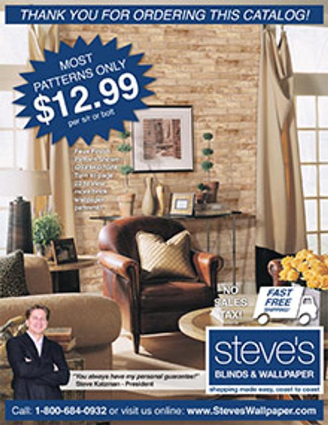 Steve's Wallpaper Catalog Cover