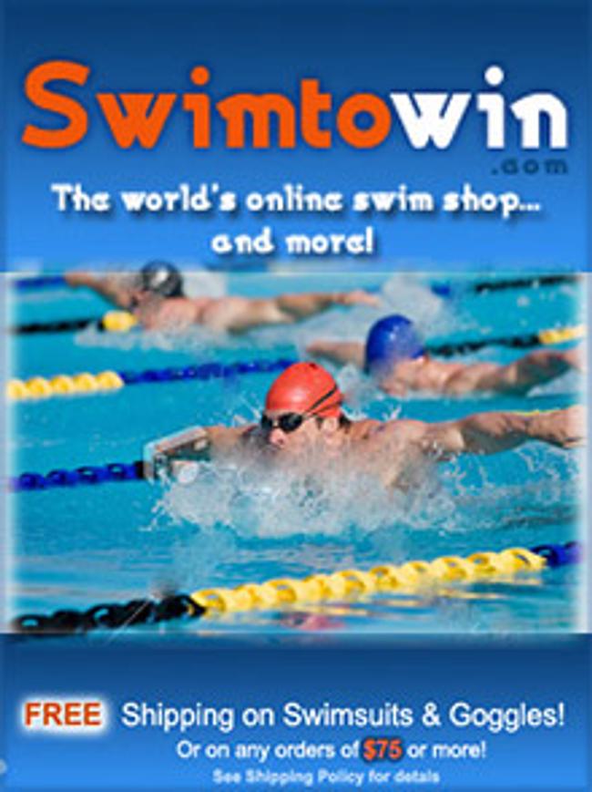 Swim To Win Catalog Cover