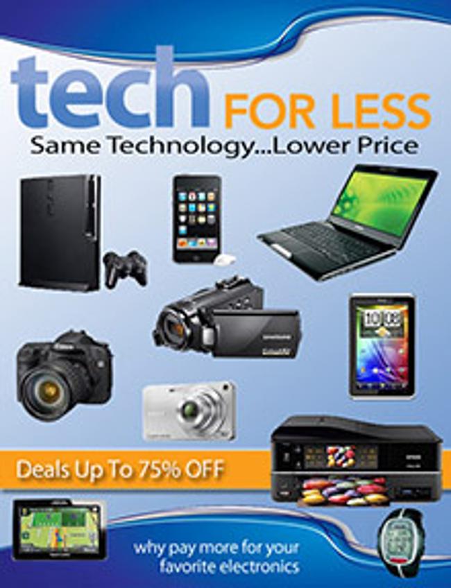 Tech For Less Catalog Cover