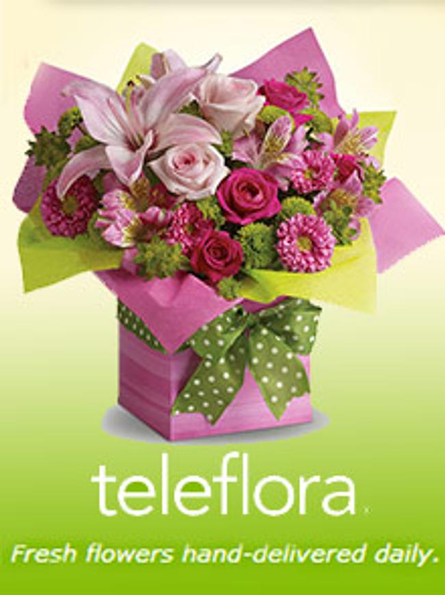 Teleflora Catalog Cover