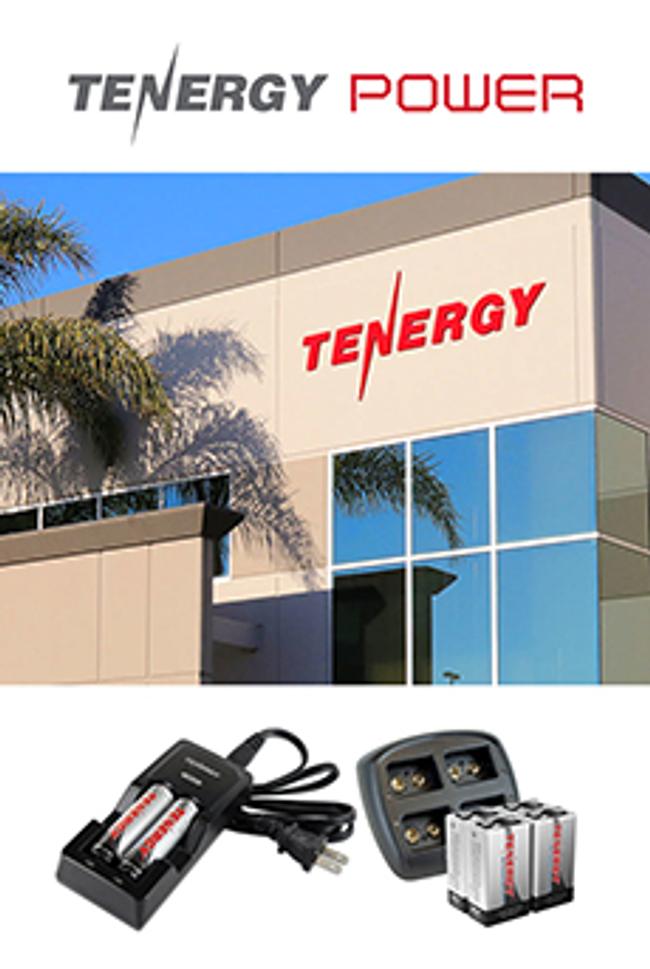 Tenergy Catalog Cover