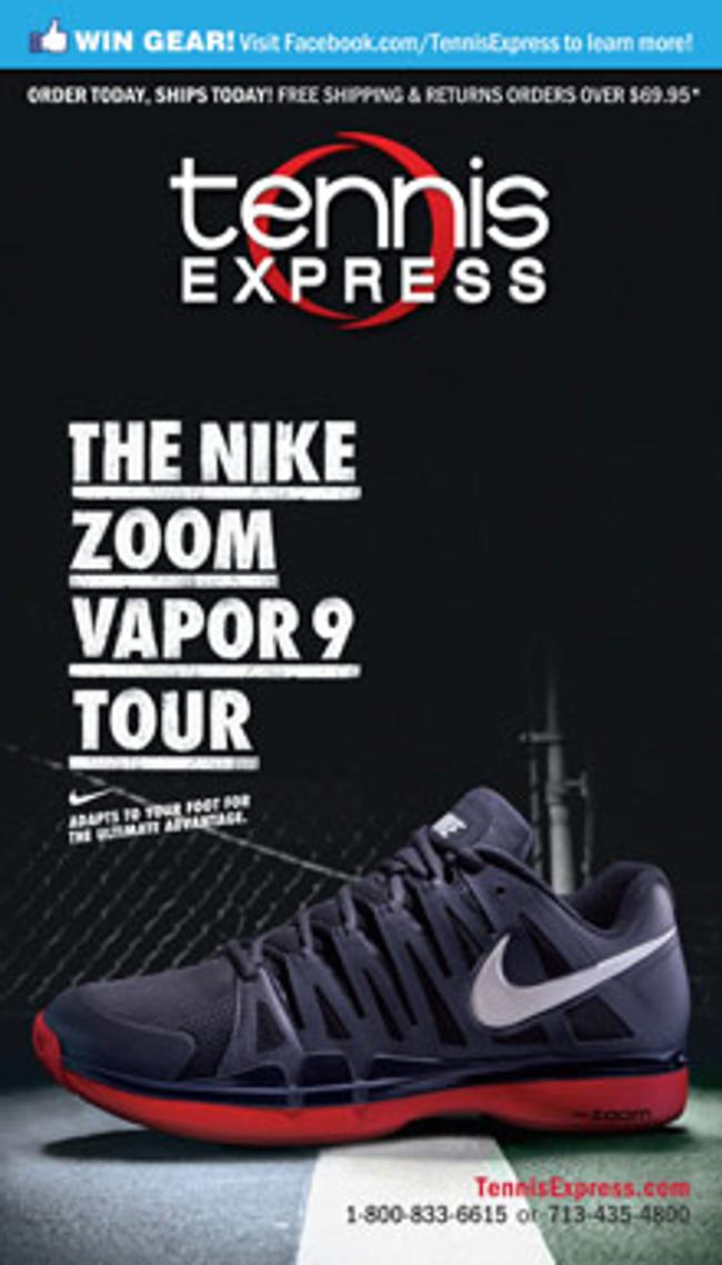 Tennis Express Catalog Cover
