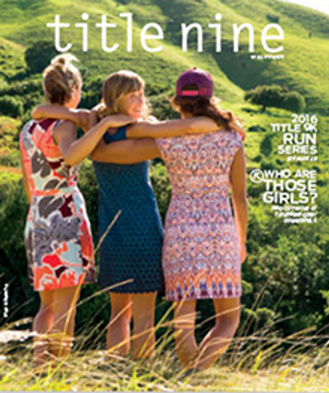 Title Nine Catalog Cover