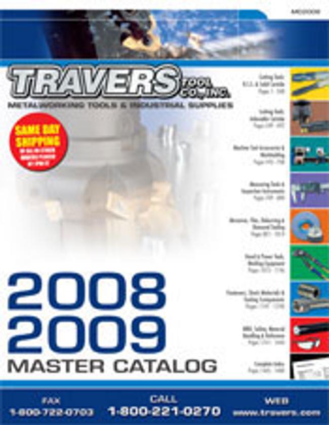 Travers Tools Catalog Cover
