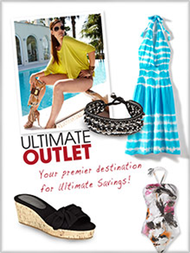 Ultimate Outlet Catalog Cover