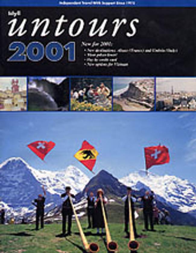 Untours Catalog Cover