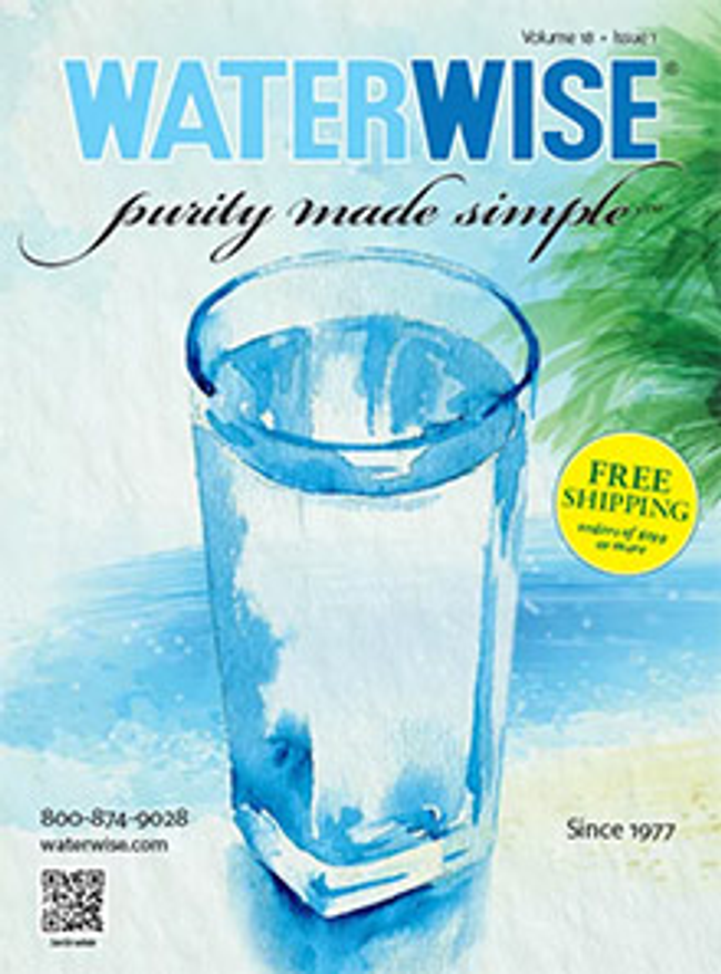 Waterwise Catalog Cover