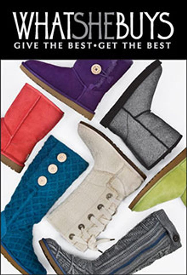 UGG Shoes Catalog Cover
