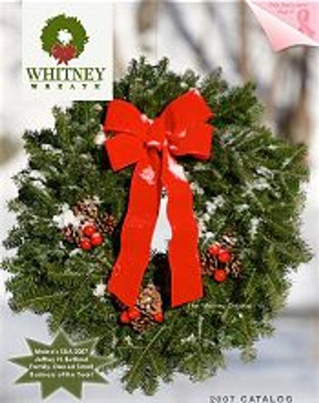 Whitney Wreaths Catalog Cover