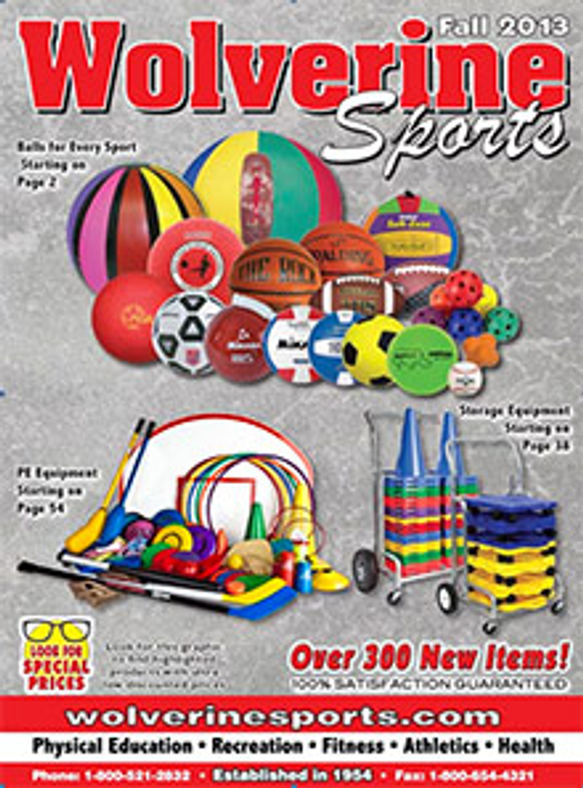 Wolverine Sports Catalog Cover