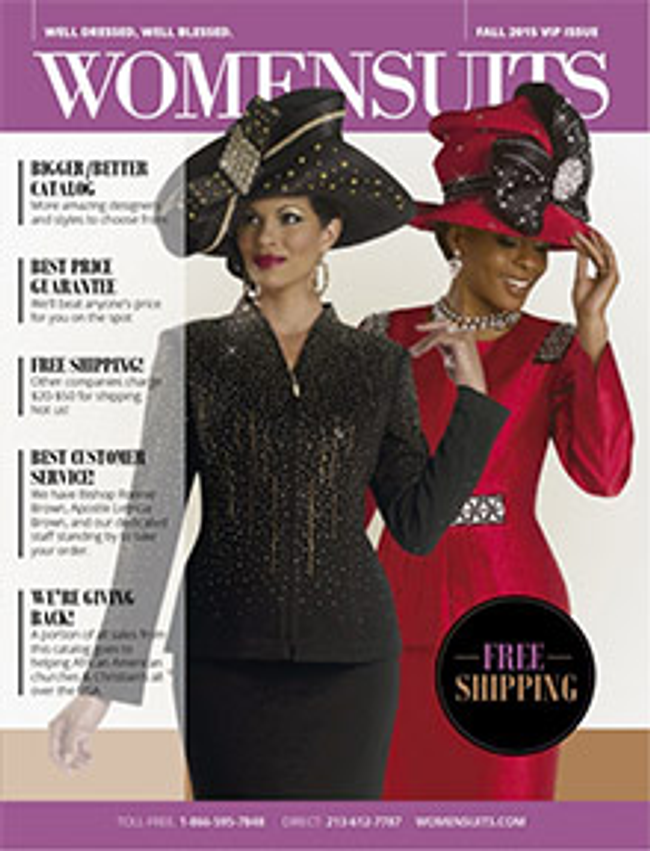 WomenSuits Catalog Cover