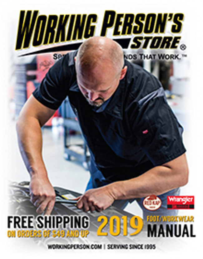 Working Person's Store Catalog Cover