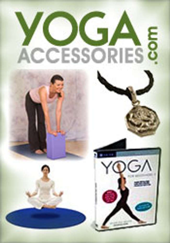 YOGAaccessories Catalog Cover