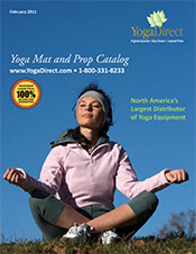 Yoga Direct  Catalog Cover