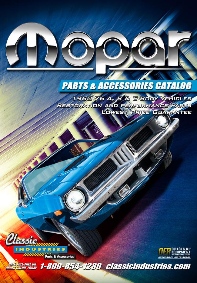 Mopar Parts Catalog Cover