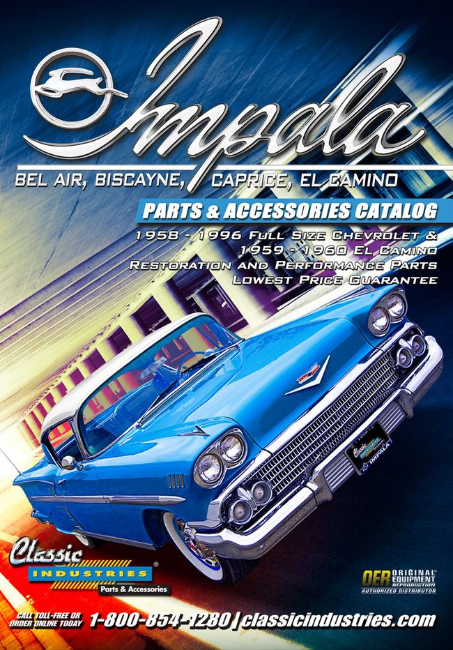 Impala Full Size Catalog Cover