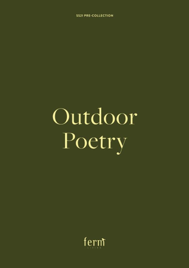 Ferm Living Outdoor Catalog Cover