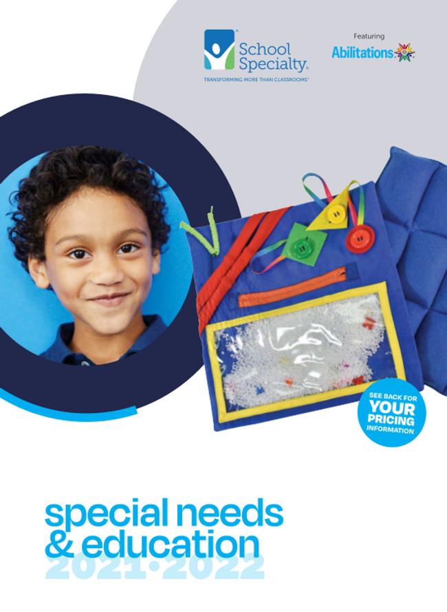 Special Needs Catalog Cover