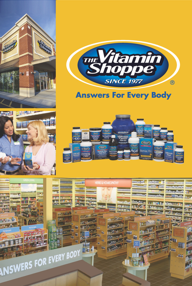 The Vitamin Shoppe Catalog Cover
