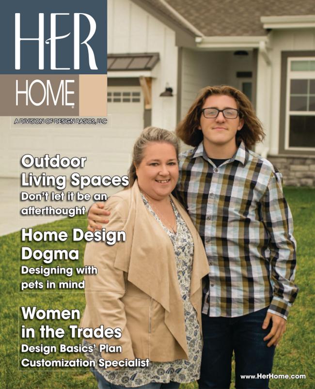 Her Home Magazine Catalog Cover