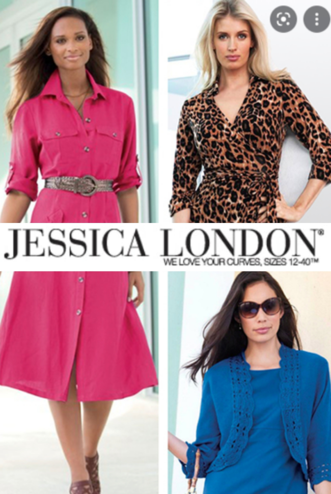Jessica London ® Catalog Cover