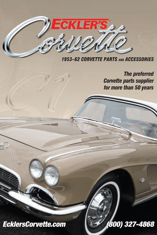 Rick's First Generation Camaro by Eckler's Catalog Cover