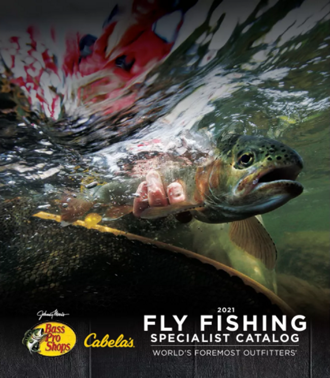 Cabela's Fly Fishing Catalog Cover