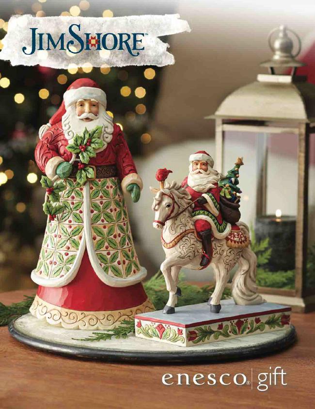 Heartwood Creek Jim Shore Wholesale Catalog Catalog Cover