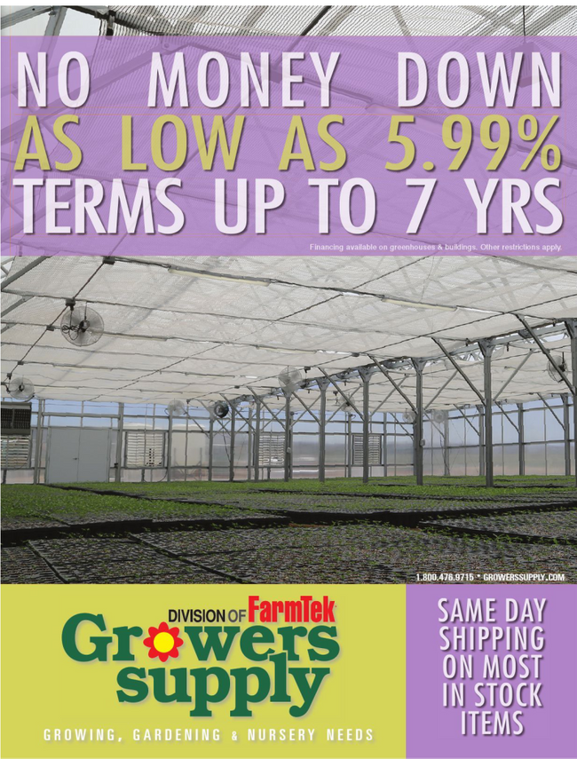 Growers Supply Catalog Cover