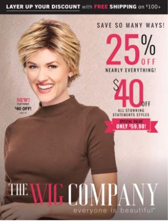 Wig Company Catalog Cover