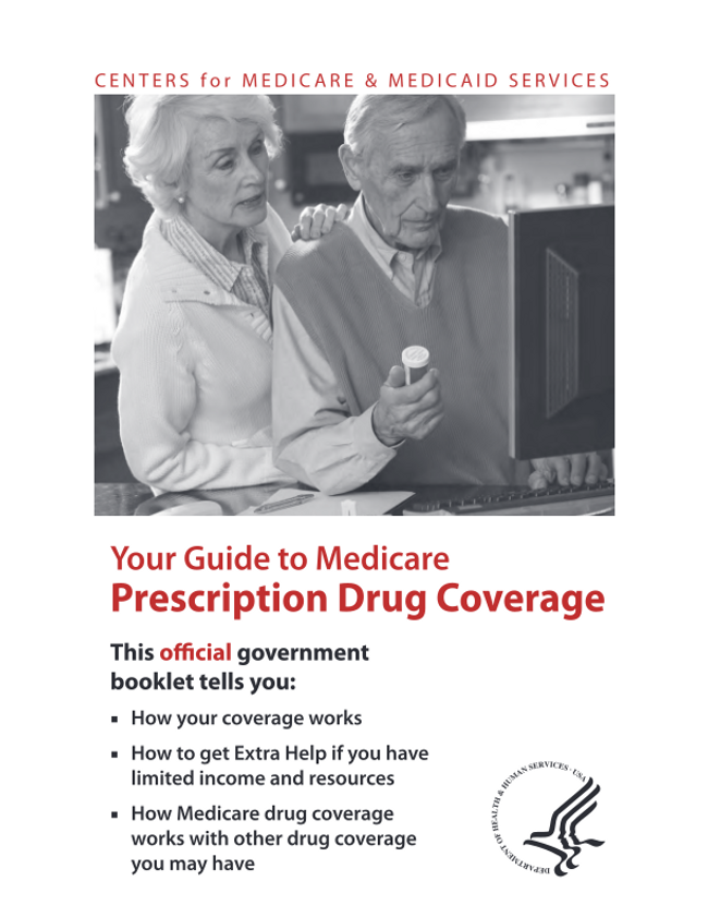 Your Guide to Medicare Prescription Drug Coverage Catalog Cover