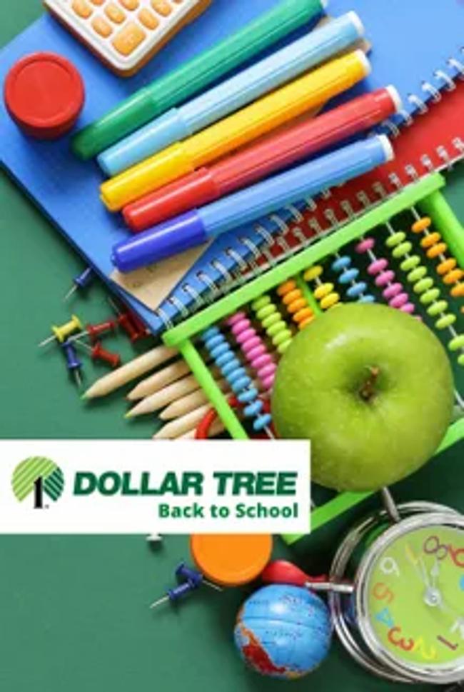 Dollar Tree - Back to School Catalog Cover