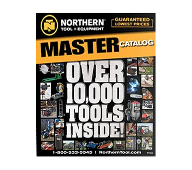 Northern Tool Catalog Cover
