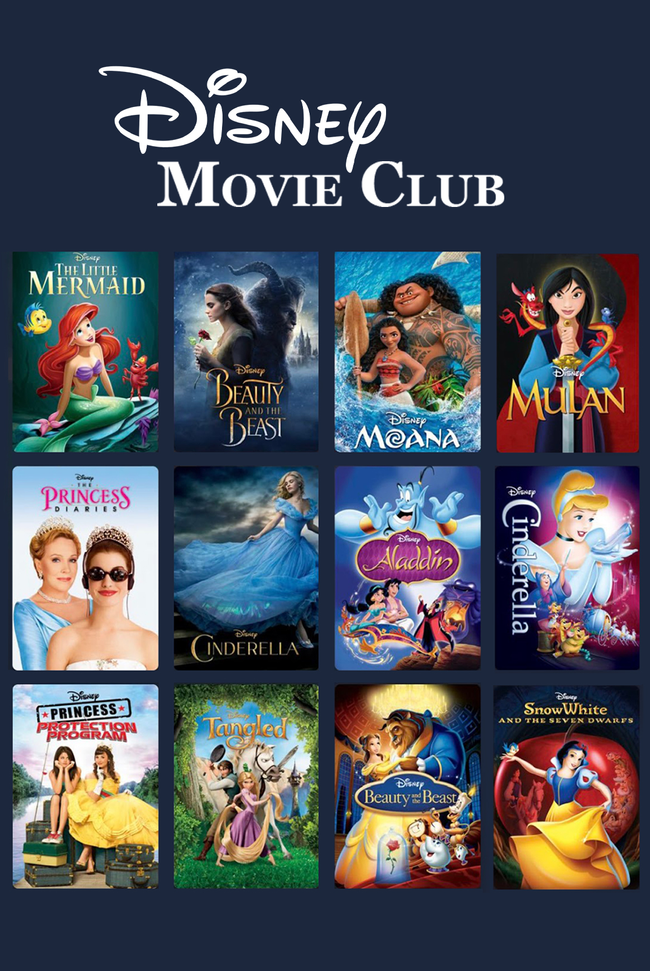 Disney Movies Catalog Cover
