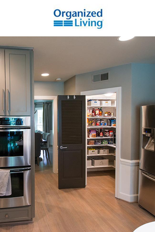 Organized Living - Kitchen Catalog Cover