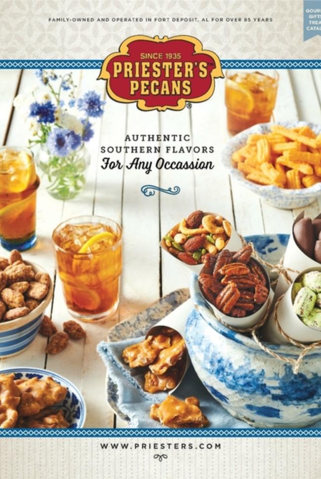 Priester's Pecans Catalog Cover