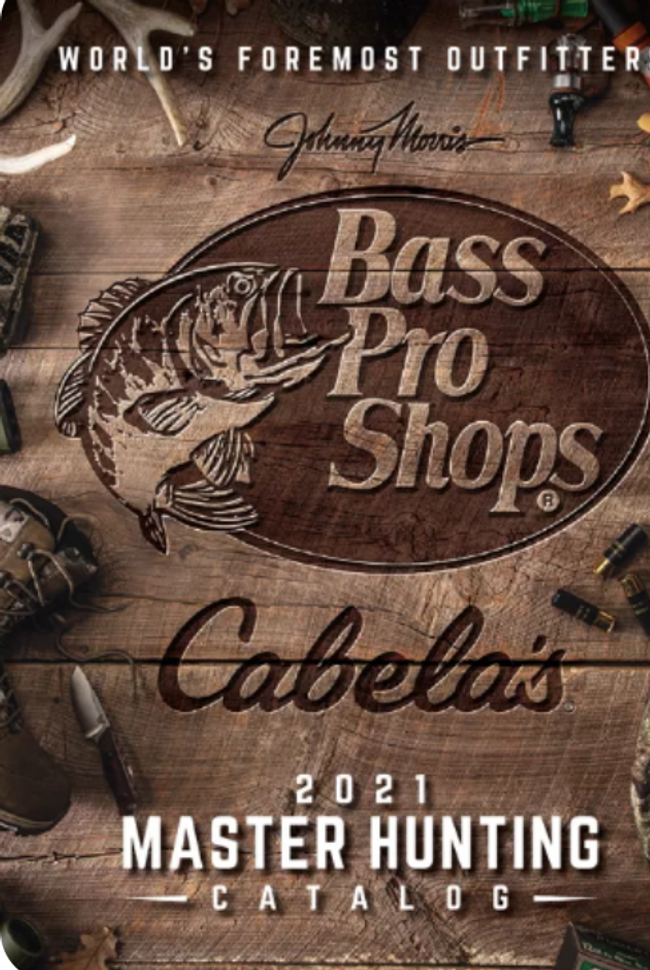 Cabela's Hunting Catalog Cover