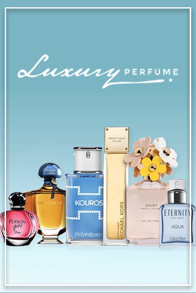 Luxury Perfume Catalog Cover