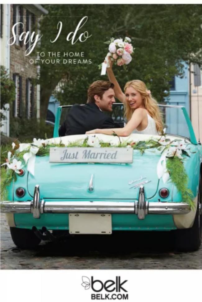 Belk Bridal Registry Book Catalog Cover