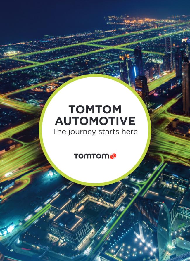 TomTom Automotive Catalog Cover