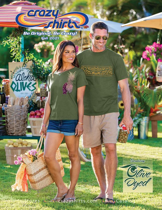 Crazy Shirts Catalog Cover