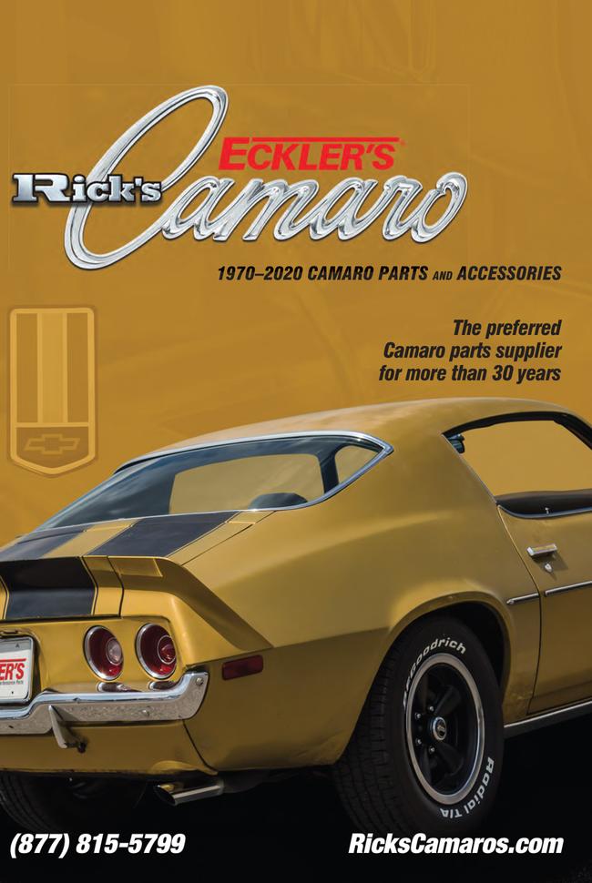 Eckler's Chevelle  Catalog Cover