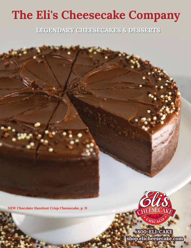 Eli's Cheesecake Catalog Cover
