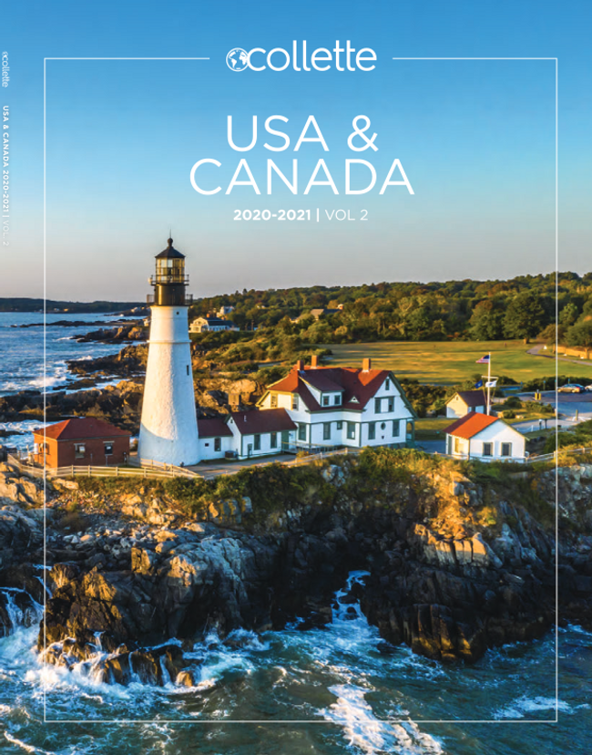 Collette Vacations - USA Catalog Cover