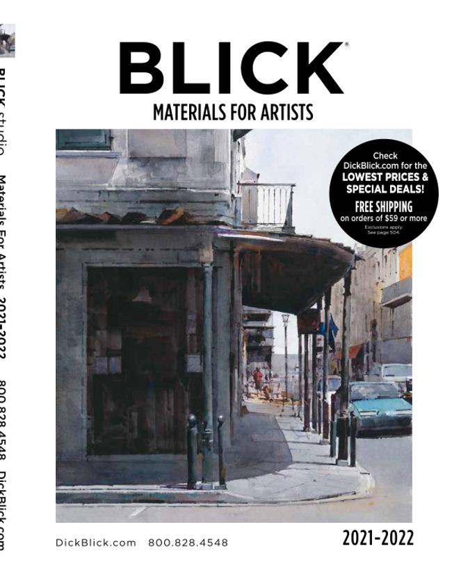 Blick Studio Art-Materials for Artists Catalog Catalog Cover