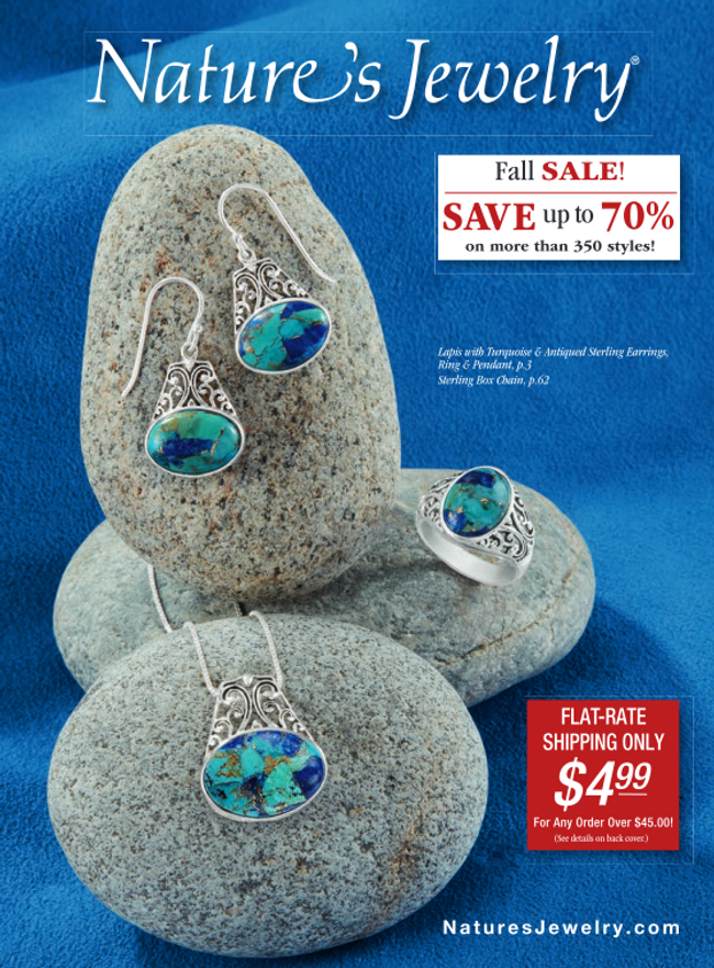 Nature's Jewelry Catalog Cover