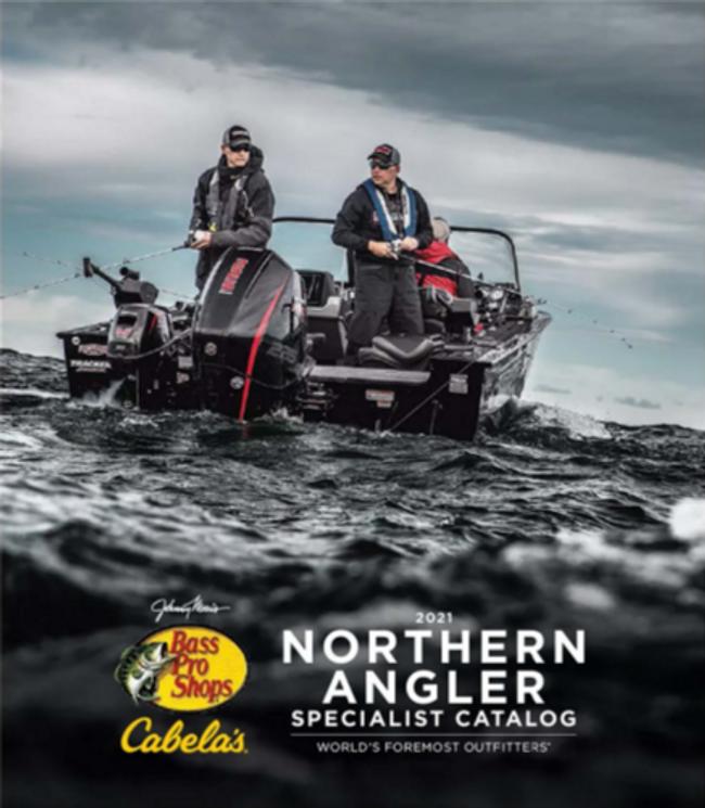 Cabela's Northern Angler Fishing Catalog Cover