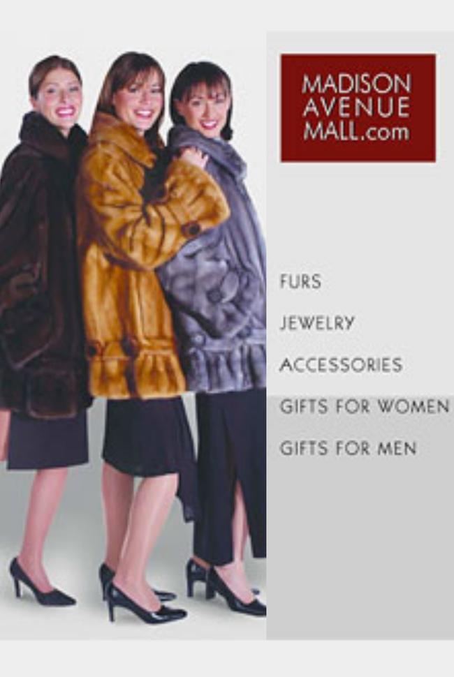 Madison Avenue Mall Catalog Cover